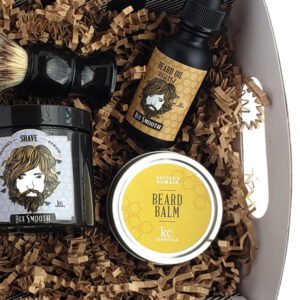 shave and groom gift set box mens
